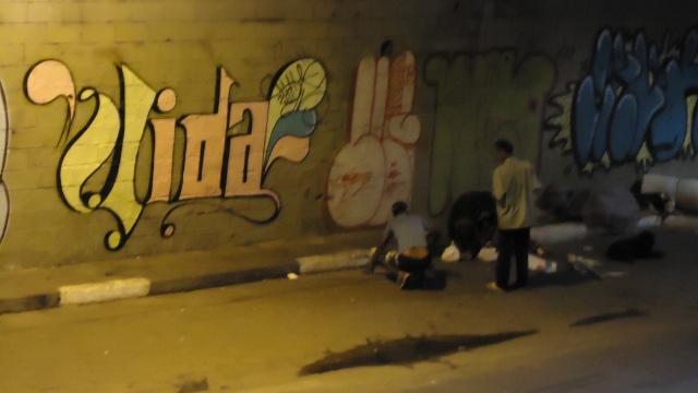Foto 2B - morador de rua