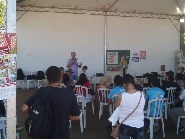 Pastoral dos Migrantes na Cúpula dos Povos - Rio de Janeiro